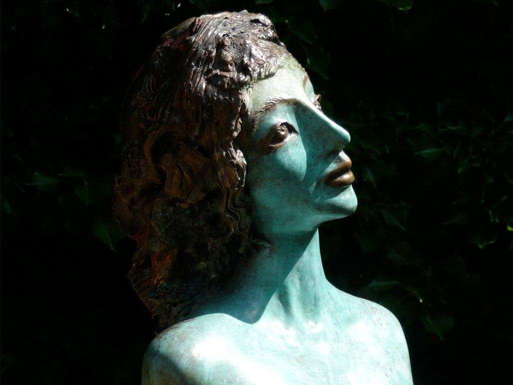 Arabella, Bronze, Detail