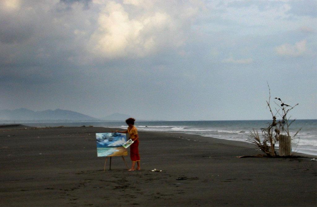 Am Strand, Bali 2006
