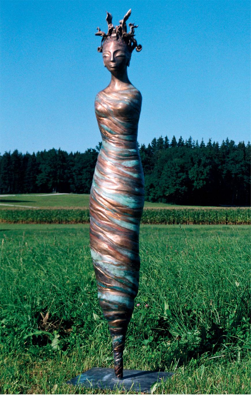 Skulptur, Antje Tesche-Mentzen, Bronze