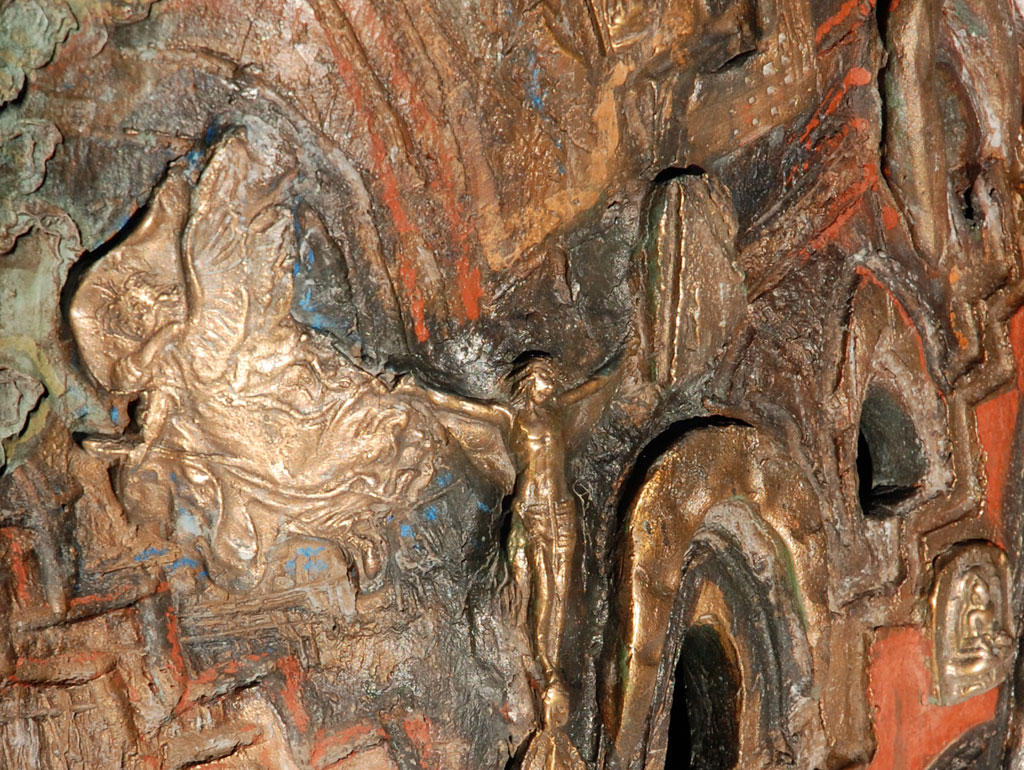 Hoffnung, Bronze, Detail