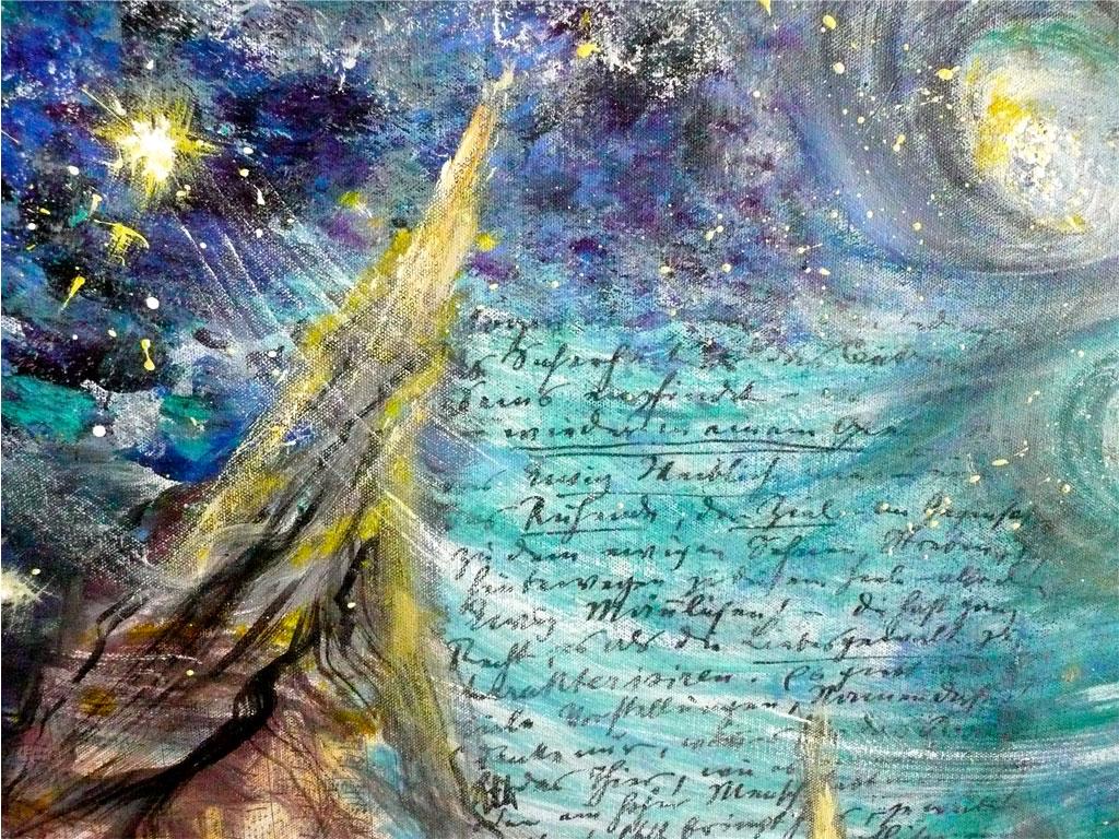 Malerei, Acryl, Antje Tesche-Mentzen, Synästhesie, Gustav Mahler