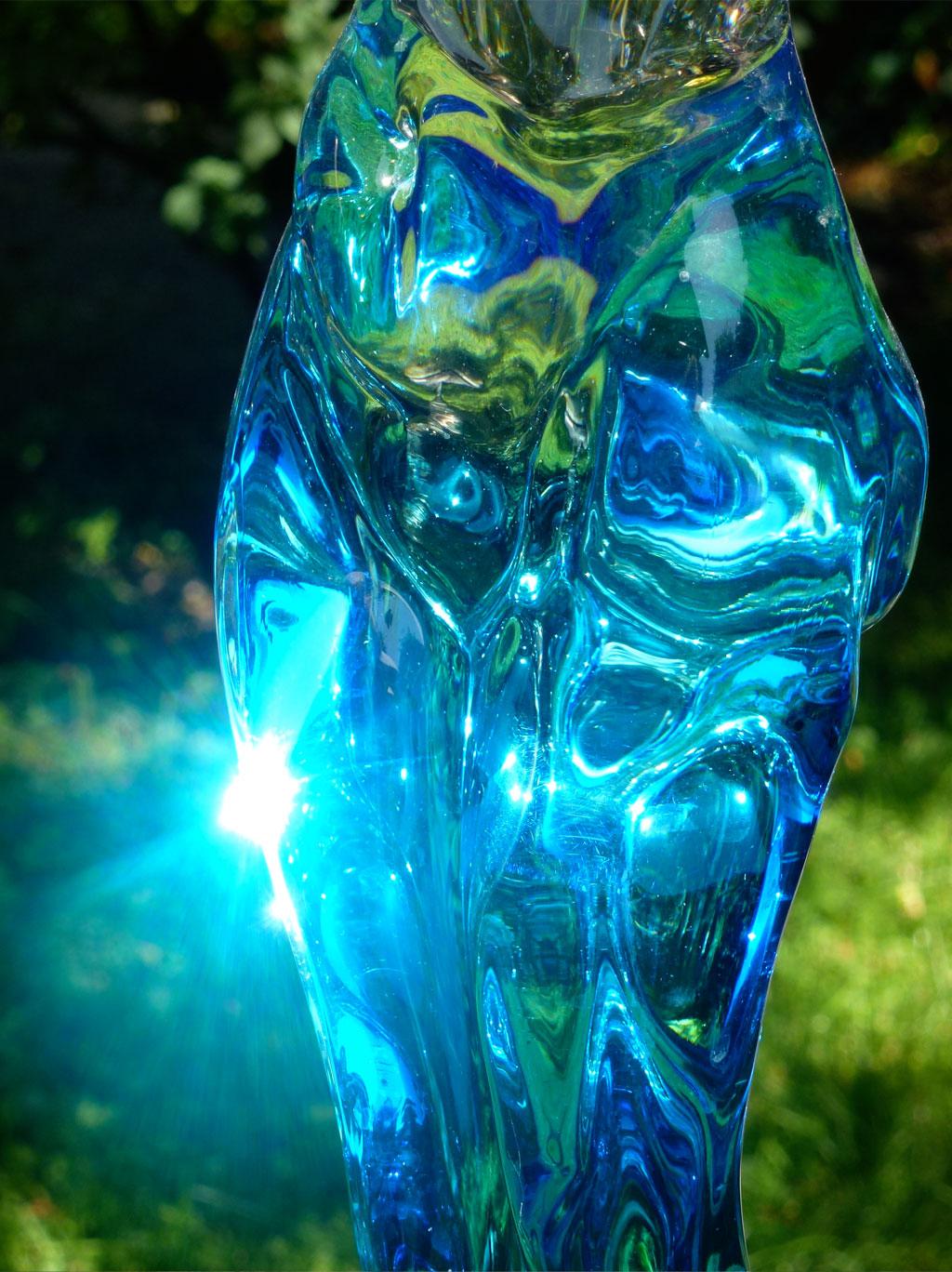 Skulptur, Antje Tesche-Mentzen, Glas