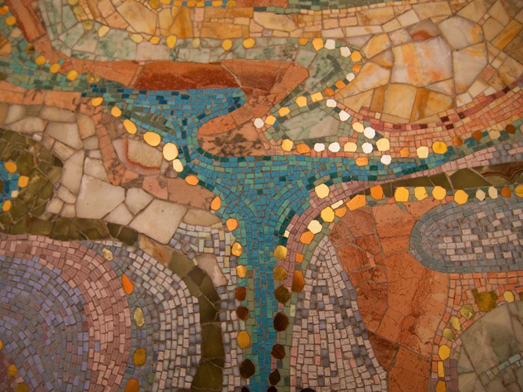 Mosaik Detail