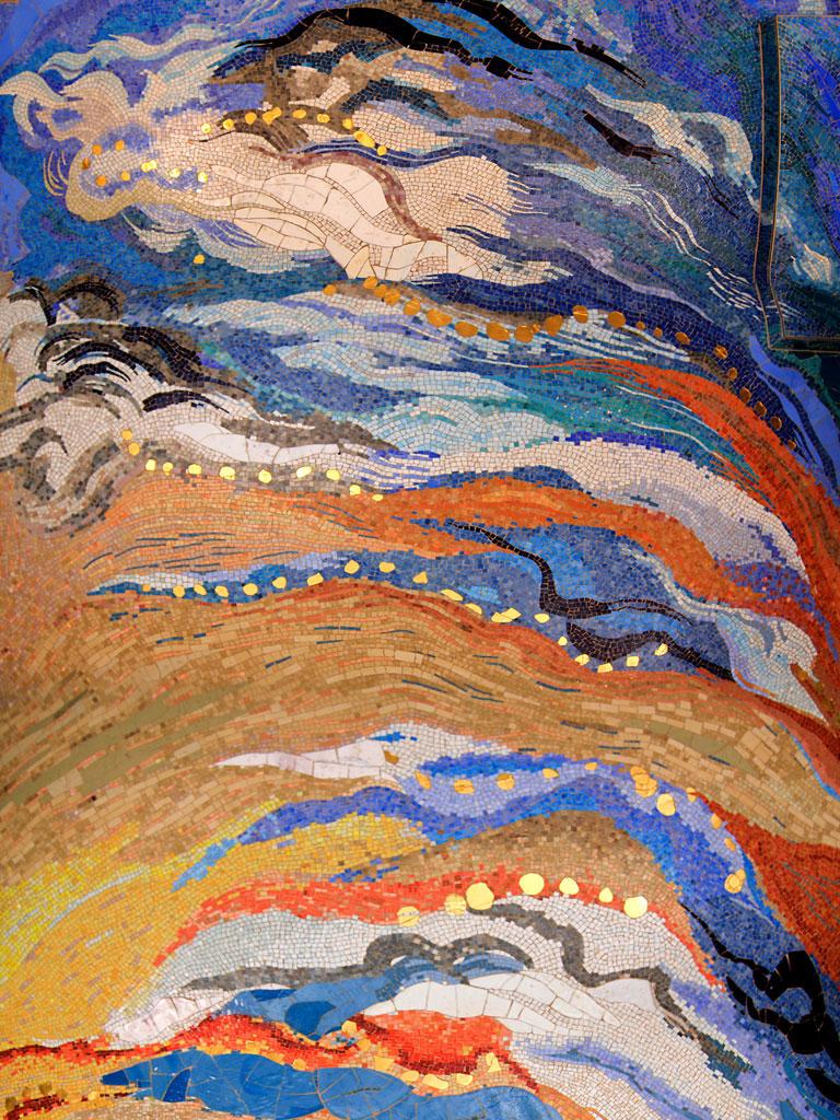 Antje Tesche-Mentzen, Mosaik, Himmel