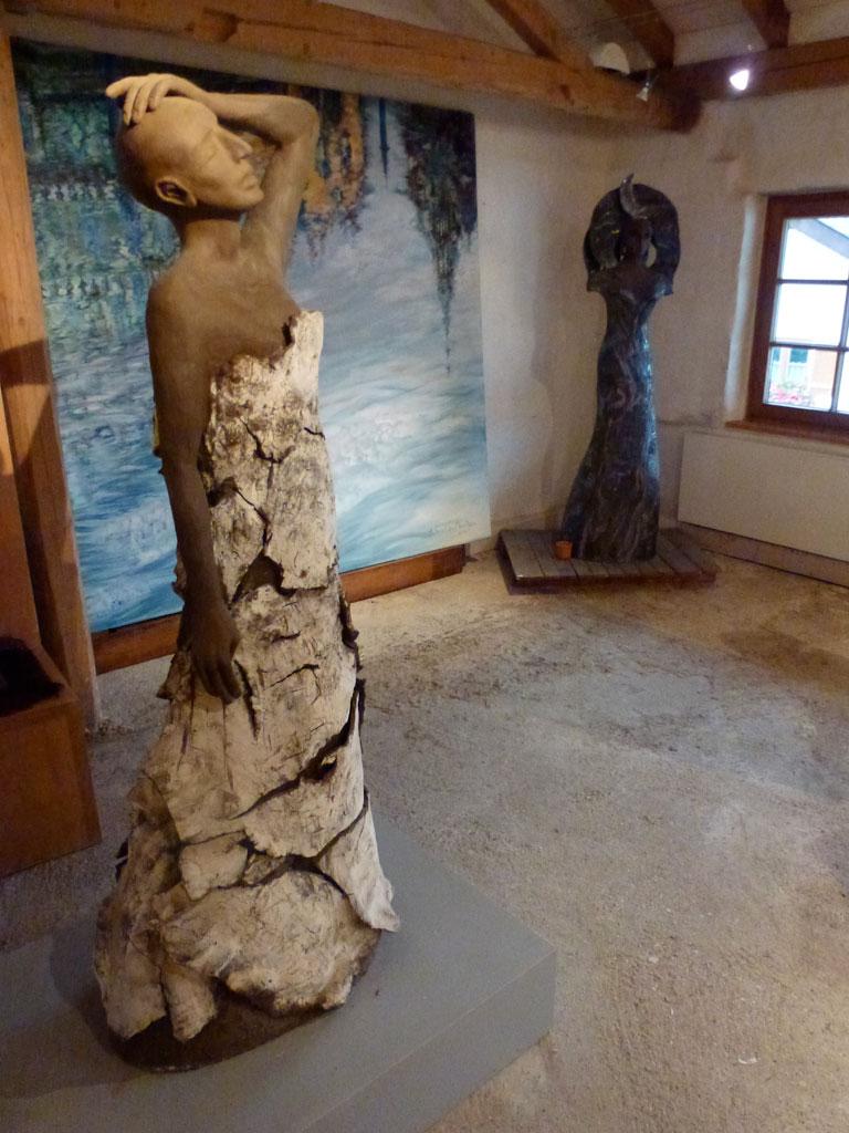 Antje Tesche-Mentzen, Keramik, Atelier, Werkstatt, Königin der Nacht