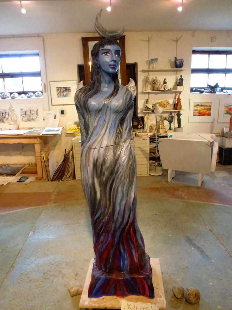 Antje Tesche-Mentzen, Keramik, Atelier, Werkstatt, Lilith