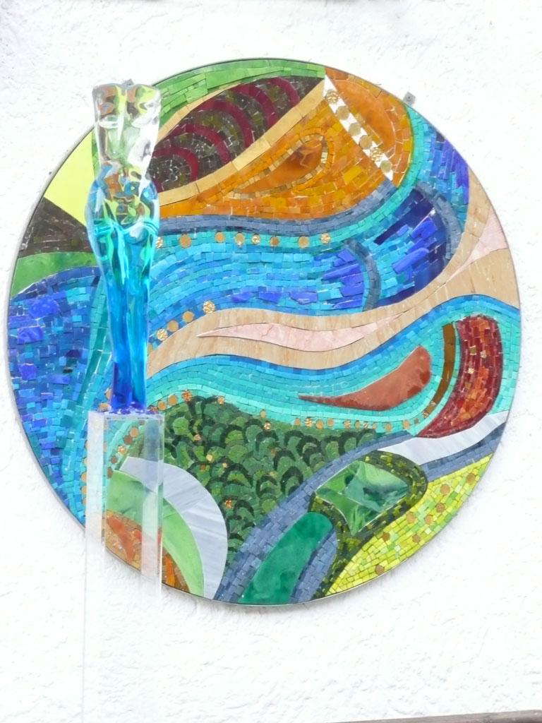 Antje Tesche-Mentzen, Mosaik, Glas, Murano