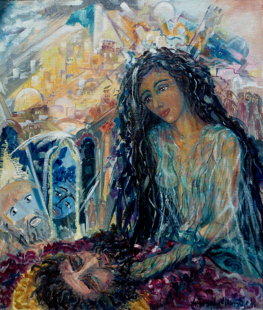 Antje Tesche-Mentzen, Malerei, Salome, Öl