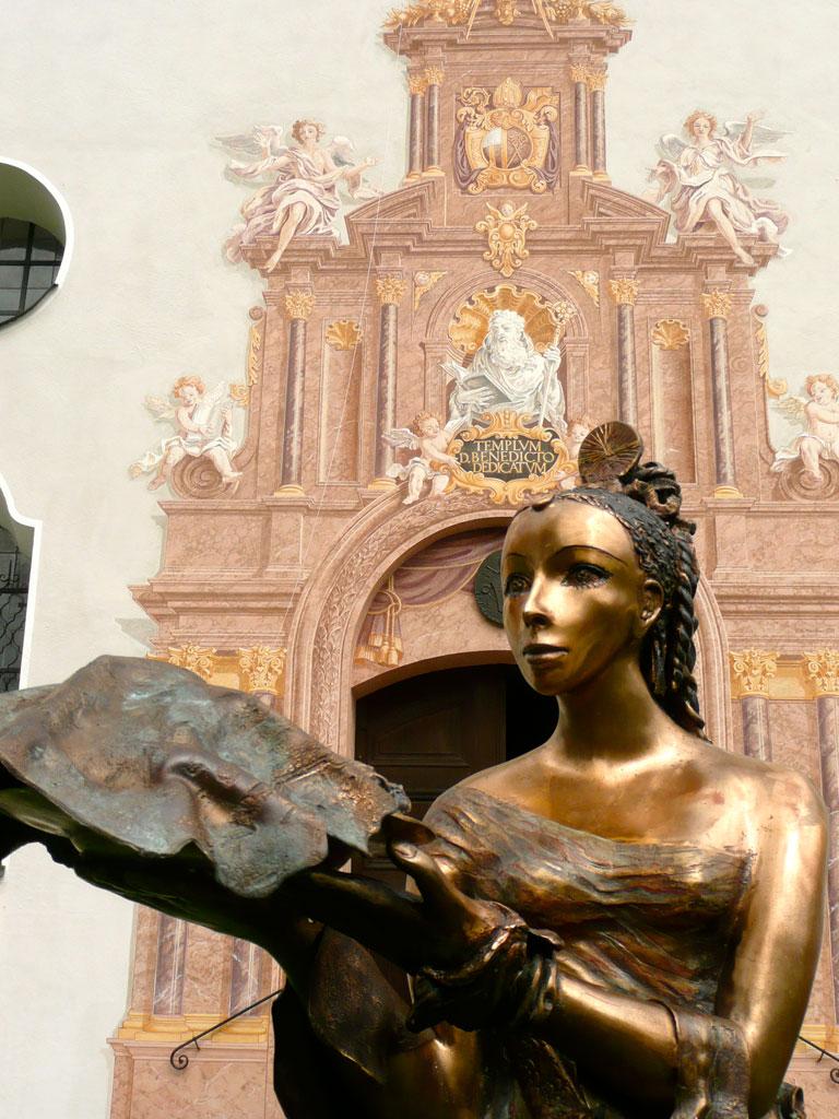 Antje Tesche-Mentzen, Skulptur, Bronze, Salome, Benediktbeuern